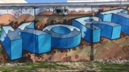 Was steckt hinter dem Graffiti Unterhaching München