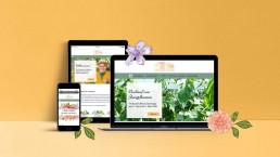 Webseite Orangerie Aukamm von m3digital entwickelt